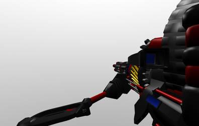 Incendiary Shoulder Minigun WIP by Warkom