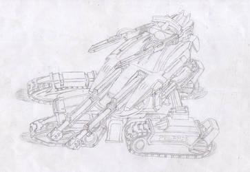 Polaris Railgun Tank by Warkom