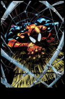 [Battle Artist] Superior SpiderMan by NimeshMorarji