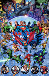 Justice League of America by NimeshMorarji