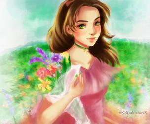 Jupiter: In a Field of Flowers by XXRisakishoXX