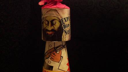 Exploding Bin Laden Noggin Firework by YoBadMama