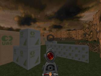 Another Doom screenshot by YoBadMama