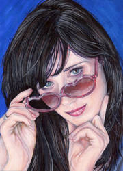 Zooey Deschanel by jrodrigues