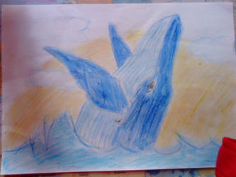 Blue Whale by Safyia