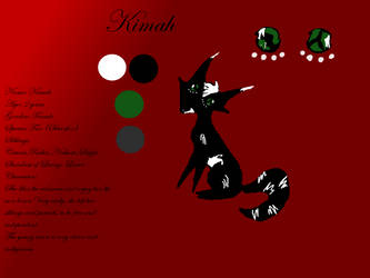 Reference sheet of Kimah by Safyia