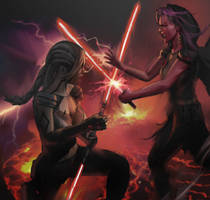 Phara vs Embros by Shin500 by Valyrian-Wildfire626