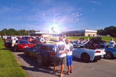 2014 Corvette Caravan Send-Off Event Photography by swayactionhero