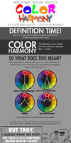 HOW TO MAKE YOUR ART LOOK NICE: Color Harmony by trisketched