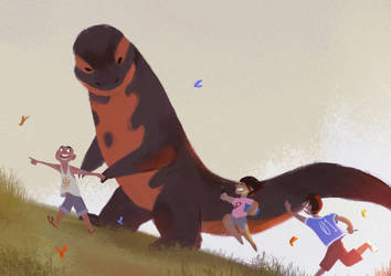 Follow the Newt by trisketched