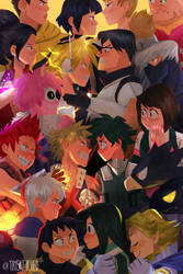 Class 1-A by trisketched