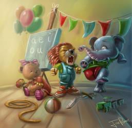 Kindergarten by jjdarias