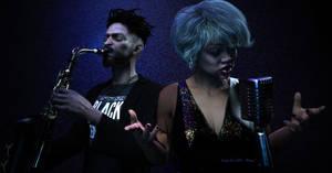 Blues Duet by IndigoTea