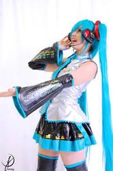 Hatsune Miku - I sing to you by JuTsukinoOfficial