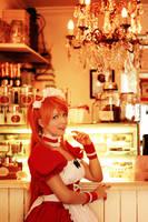 Asuka Langley - maid version by JuTsukinoOfficial
