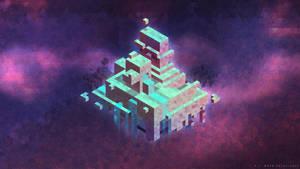 Hexels in Space by de-Mote