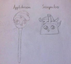 Applebroom and Scoopaloo by PeppyGreyskull