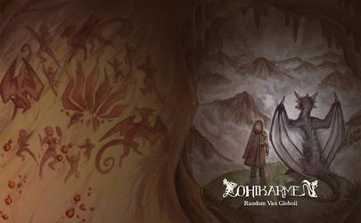 Lohikarmen book cover [Made by LeoDragonsWorks] by RandomVanGloboii