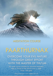Meditation course with Paarthurnax by RandomVanGloboii