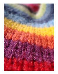 Coloured stripes by Erdbeery