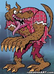 Werewolf by RossRadiation