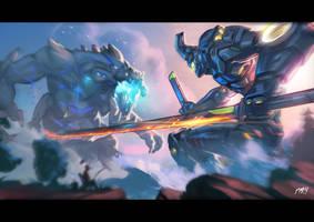 Omega Ronin - PacificRim FanArt Contest - MoonYeah by MoonYeah