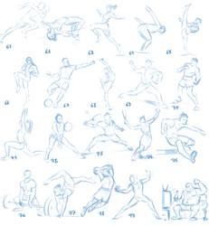 61 - 80 (sports series) by MoonYeah