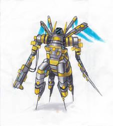 The Hornet by Shadowwwolf