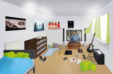 My room by Shadowwwolf