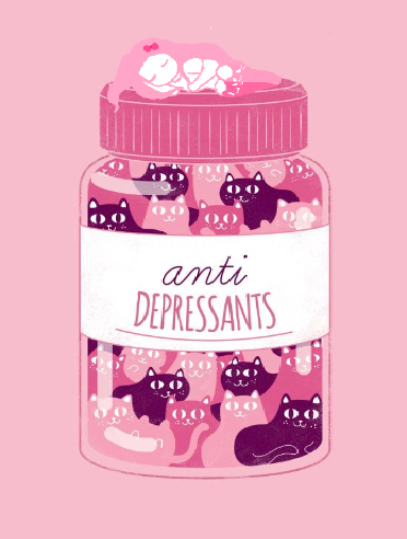 Anti depressants uwu by Kami-pastel