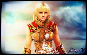 Pyrrha - SoulCalibur V by FoxboroNRoses