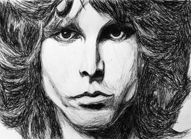 Jim Morrison by SzymonWajner