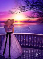 Just beyond the sunset... by Secretadmires