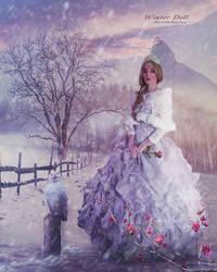 Winter Doll by Secretadmires