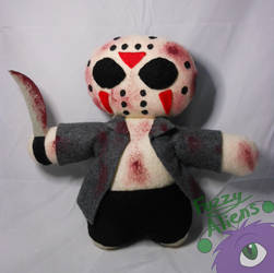 Jason Voorhees Plush by FuzzyAliens