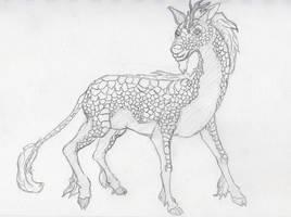 Kirin Sketch by inejwstine