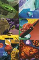 Color Scheme Collages 1 by inejwstine