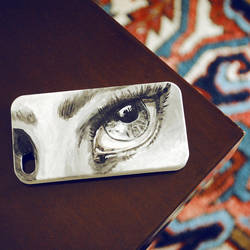 Eye - iPhone Case by SheSaidNevermore