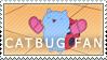 CATBUG Fan Stamp by Jailboticus