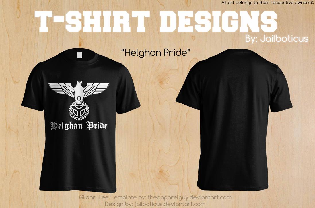 Helghan Pride Shirt Design By Jailboticus On Deviantart