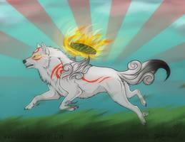 The wandering sun by Saiccu