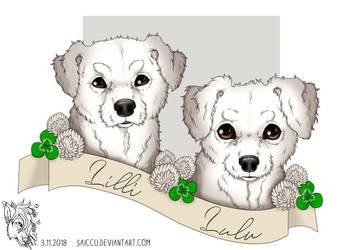 Lilli and Lulu by Saiccu
