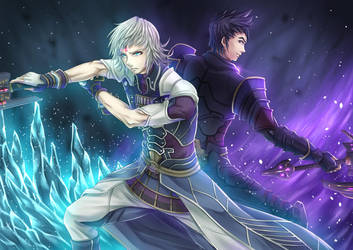 Jin and Malos by ZephX