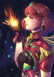Pyra by ZephX