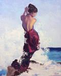 Ocean Waves by JoseHerb