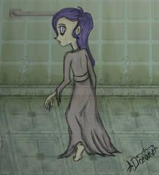 Ghost Girl [Sally Face fanart] by A--Dreamer