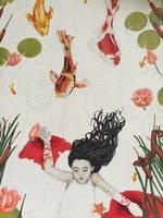 Koi pond #2 by PoppyRed24