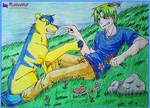 GA - Gurasu and Duce by Kaiyaru
