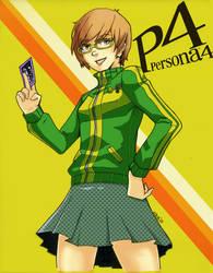 P4: Chie Satonaka by beamer
