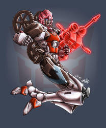 transformers: energon arcee by beamer